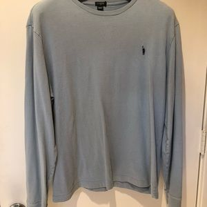 Beautiful light blue long sleeved tee from JCrew